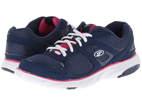 Dr. Scholl's - Raven (Navy/Fuchsia) Women's Lace up casual Shoes