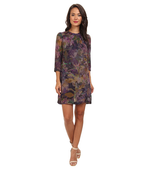French Connection - Cherry Orchard Georgette 71CCN (Dark Multi) Women's Dress