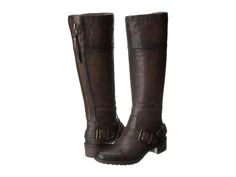 Naturalizer - Macnair Regular Shaft (Brown Leather) Women's Dress Zip Boots