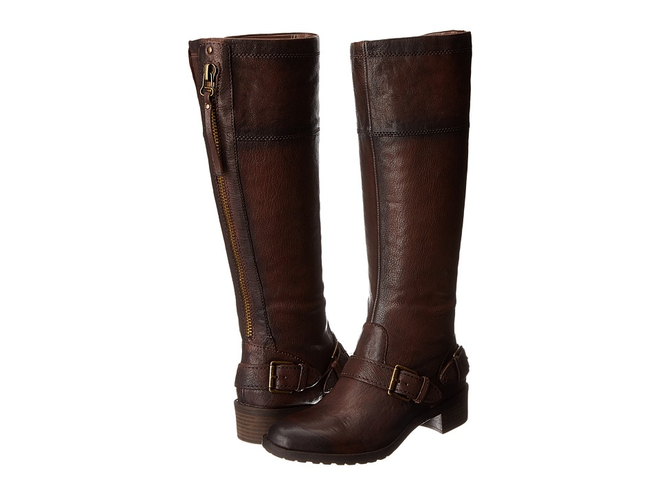 Naturalizer - Macnair Wide Shaft (Brown Wide Shaft Leather) Women
