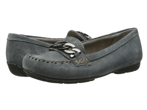 Naturalizer - Kingly (Graphite Lead Suede) Women's Slip on Shoes