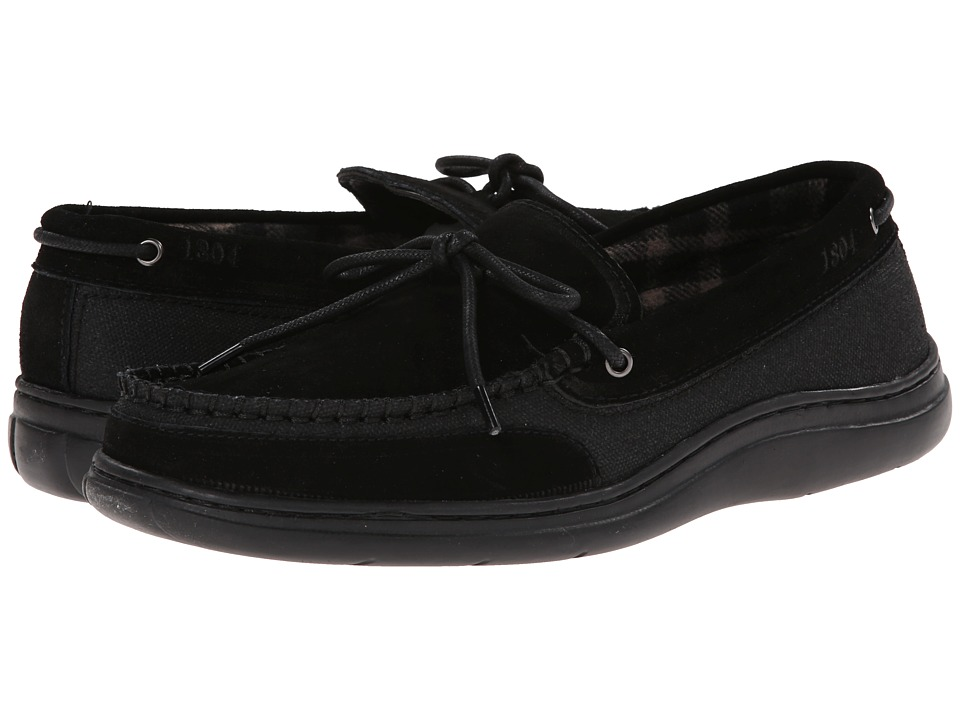 L.B. Evans - Langford (Black) Men's Slippers
