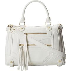 Steve Madden Btalia Satchel (Vanilla) Satchel Handbags