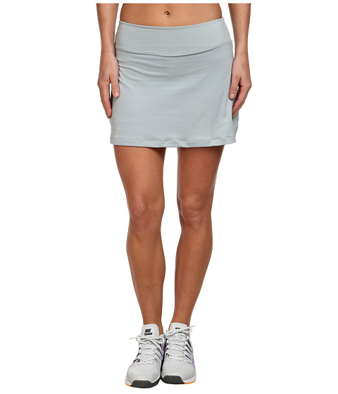 Nike - Straight Knit Skort (Silver Wing/Matte Silver) Women's Skort