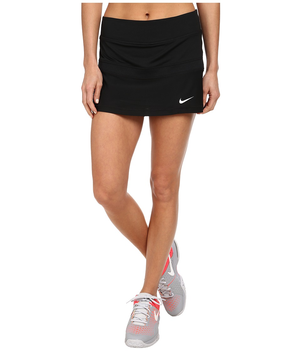 Nike - Court Skort (Black/White) Women's Skort