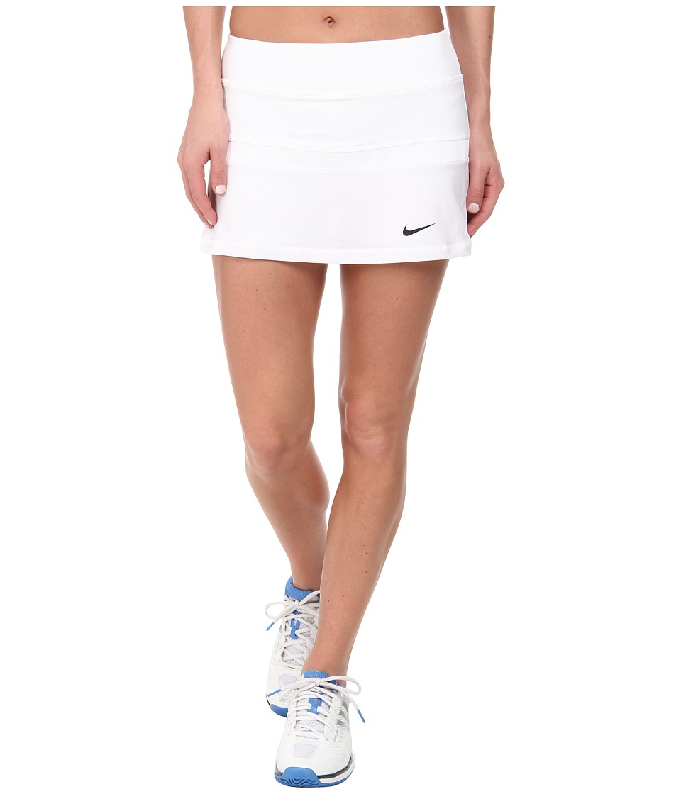 Nike - Court Skort (White/Black) Women's Skort