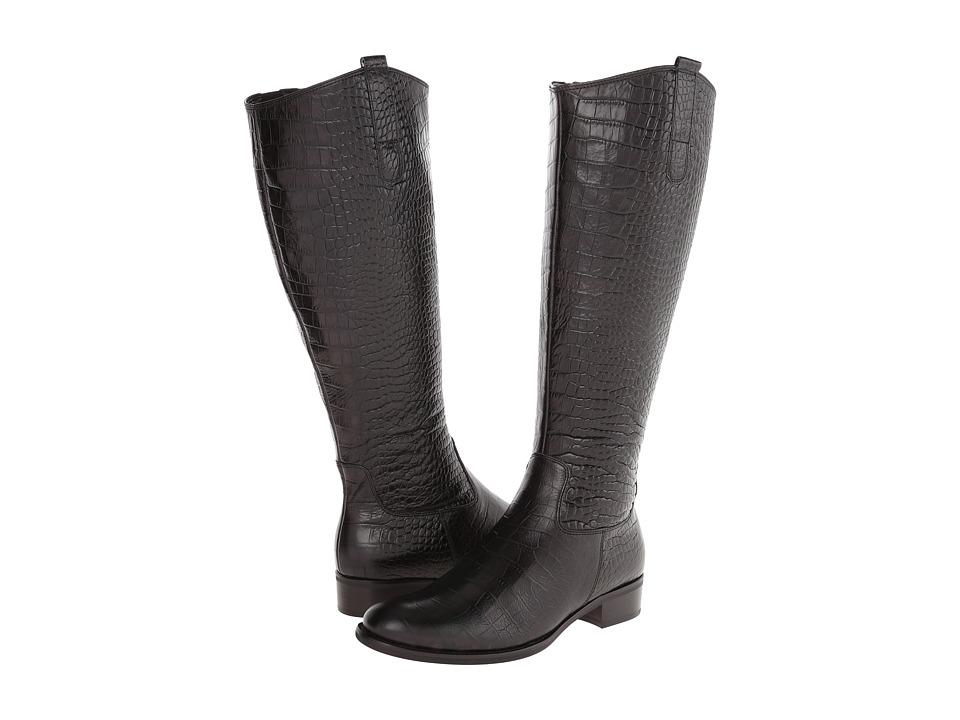 Gabor - Gabor 91.637 (Graphite Kroko Antico) Women's Boots