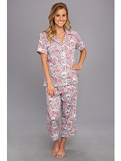 SALE! $69.99 - Save $46 on BedHead Red Piccadilly Paisley Classic Cotton PJ (Red Multi) Apparel - 39.66% OFF $116.00