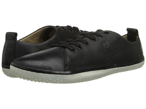 Vivobarefoot - Freud (Black/White Leather) Women