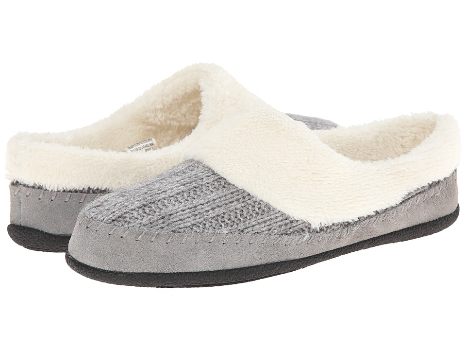 Daniel Green - Gerdy (Light Grey) Women's Slippers