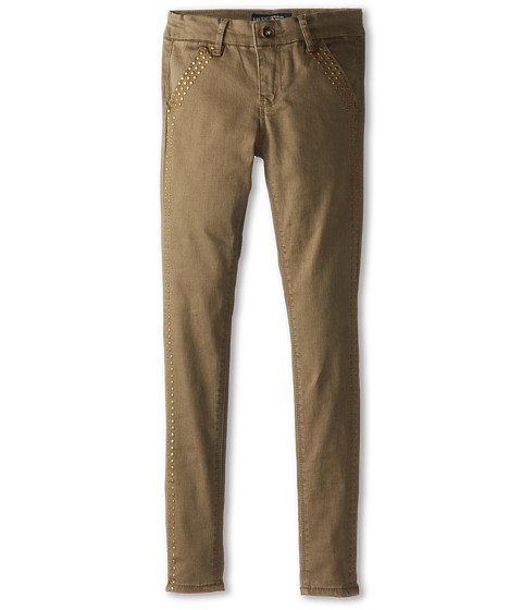 Lucky Brand Kids - Twill Studded Chino Pant (Big Kids) (Ivy Green) Girl's Casual Pants