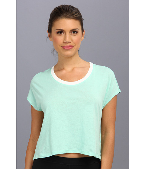 C&C California - Shape Loose Crop Tee (Cabbage) Women's T Shirt