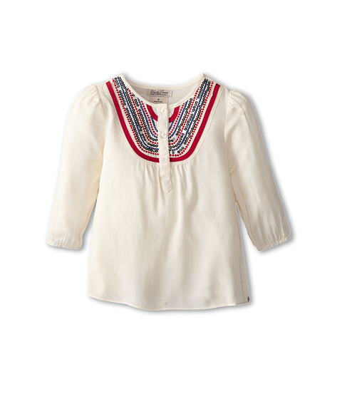 Lucky Brand Kids - Diamond Lake Top (Little Kids) (White Swan) Girl