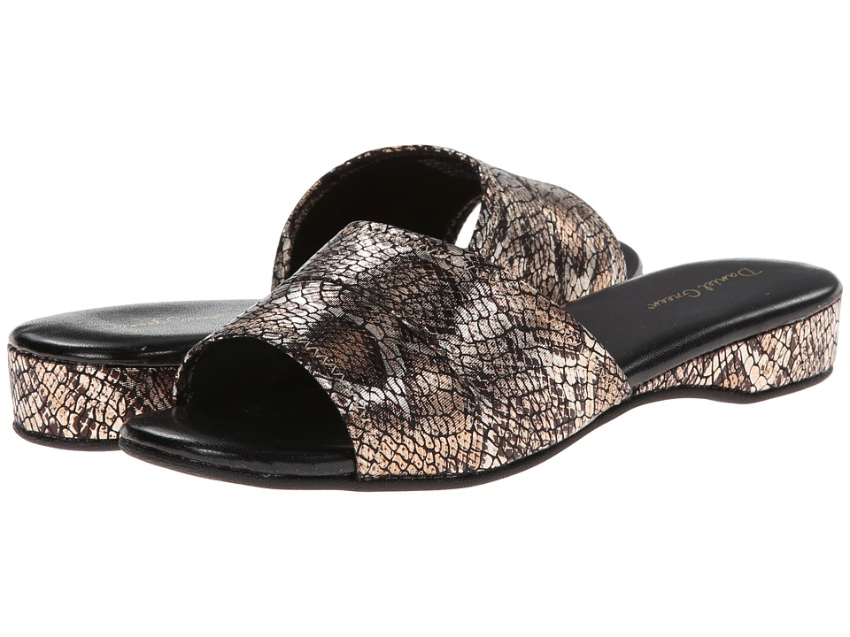 Daniel Green - Dormie (Gold Snake) Women's Slippers