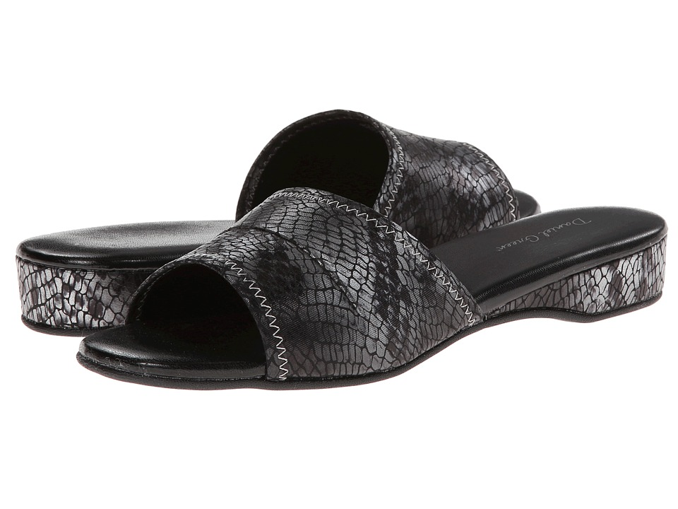 Daniel Green - Dormie (Grey Snake) Women's Slippers