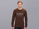 Life is good Thermal L/S Slub