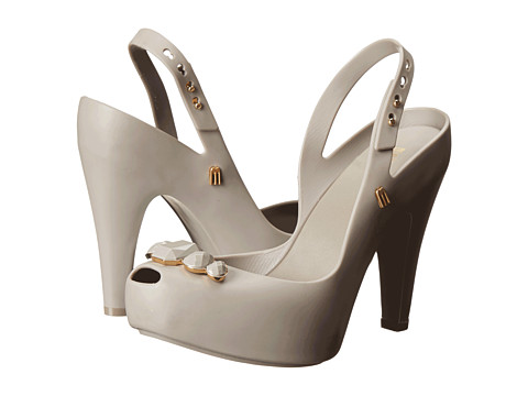 Melissa Shoes - Melissa Ultragirl Heel Special (Grey) High Heels
