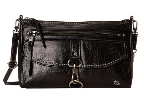 The Sak - Ventura Crossbody (Black Onyx) Cross Body Handbags