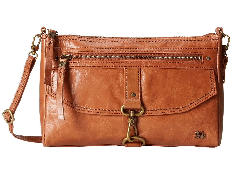 The Sak - Ventura Crossbody (Tobacco) Cross Body Handbags