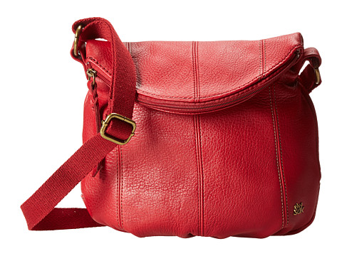 The Sak - Deena Crossbody Flap (Cherry) Cross Body Handbags