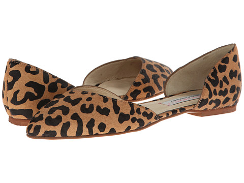 Chinese Laundry - Kristin Cavallari - Cadence Leopard P (Tan Leopard Pony) Women's Flat Shoes