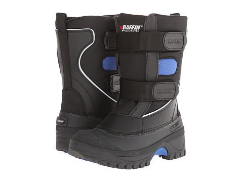Baffin Kids - Raider (Little Kid/Big Kid) (Black/Blue) Boys Shoes