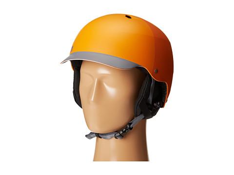 Bern - Watts EPS (Matte Orange Hatstyle w/ Black Liner) Snow/Ski/Adventure Helmet