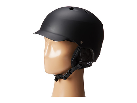Bern - Watts EPS (Matte Black w/ 8tracks Audio Liner) Snow/Ski/Adventure Helmet