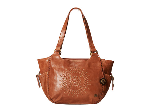 The Sak Kendra Satchel (Tobacco Whipstitch) Satchel Handbags