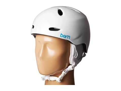 Bern - Berkeley (Satin White w/ White Liner) Snow/Ski/Adventure Helmet