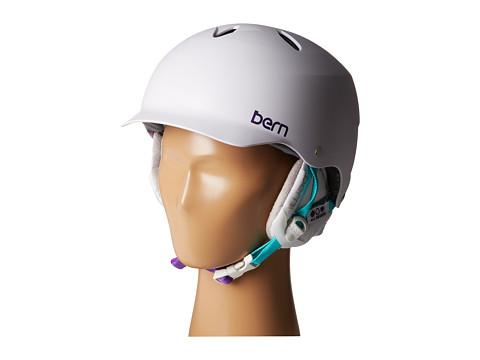 Bern - Lenox EPS (Satin White w/ White Liner) Snow/Ski/Adventure Helmet