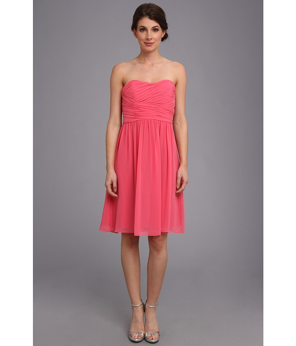Donna Morgan - Sarah Short Rouched Dress (Honeysuckle) Women's Dress