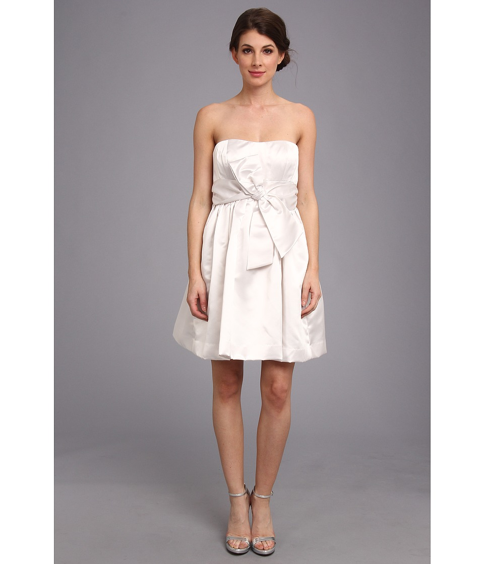Donna Morgan - Samantha Fit Flare Lwd (White) Women's Dress