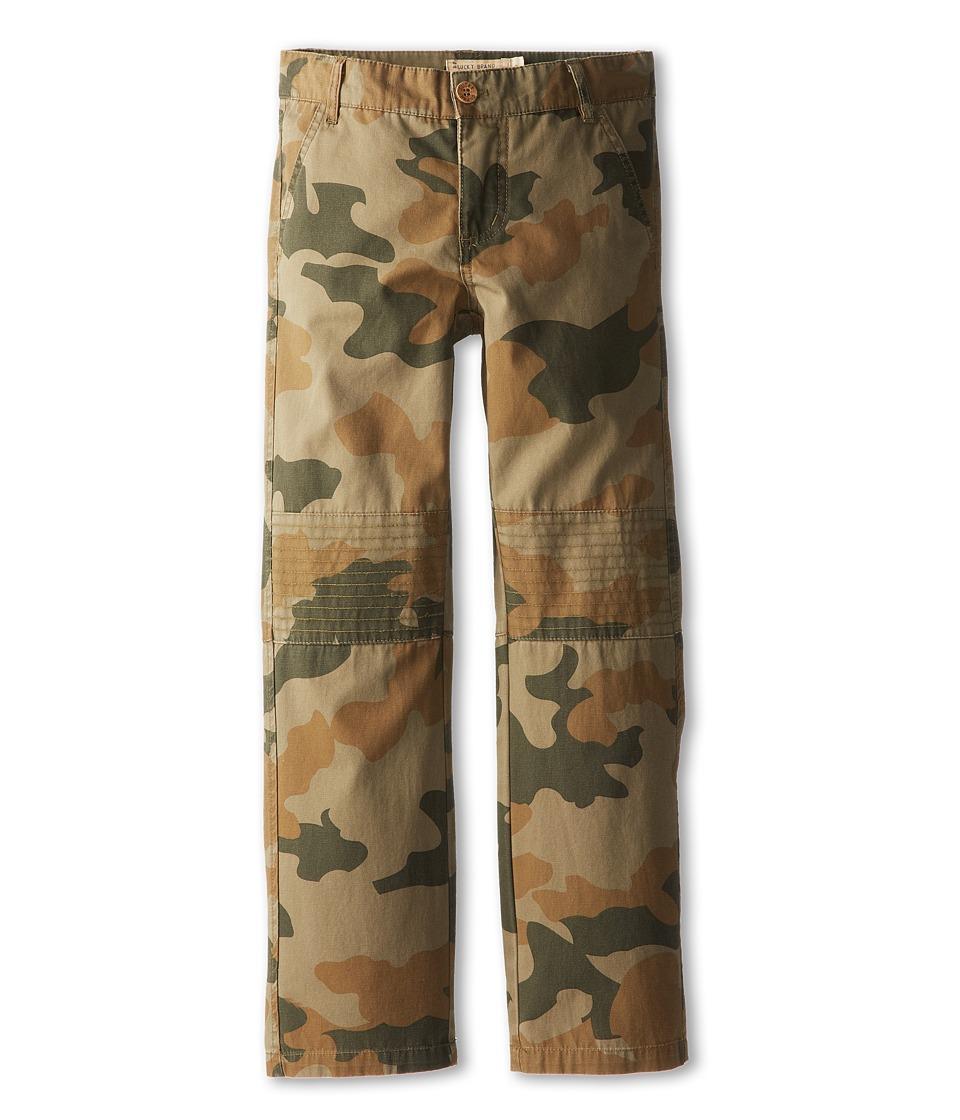 Lucky Brand Kids - Moto Camo Chino Pant (Big Kids) (Livenight) Boy's Casual Pants