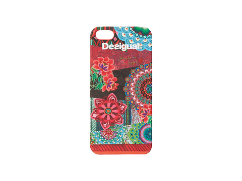 Desigual - Apple iPhone 5/5S Cover (Rojo) Cell Phone Case