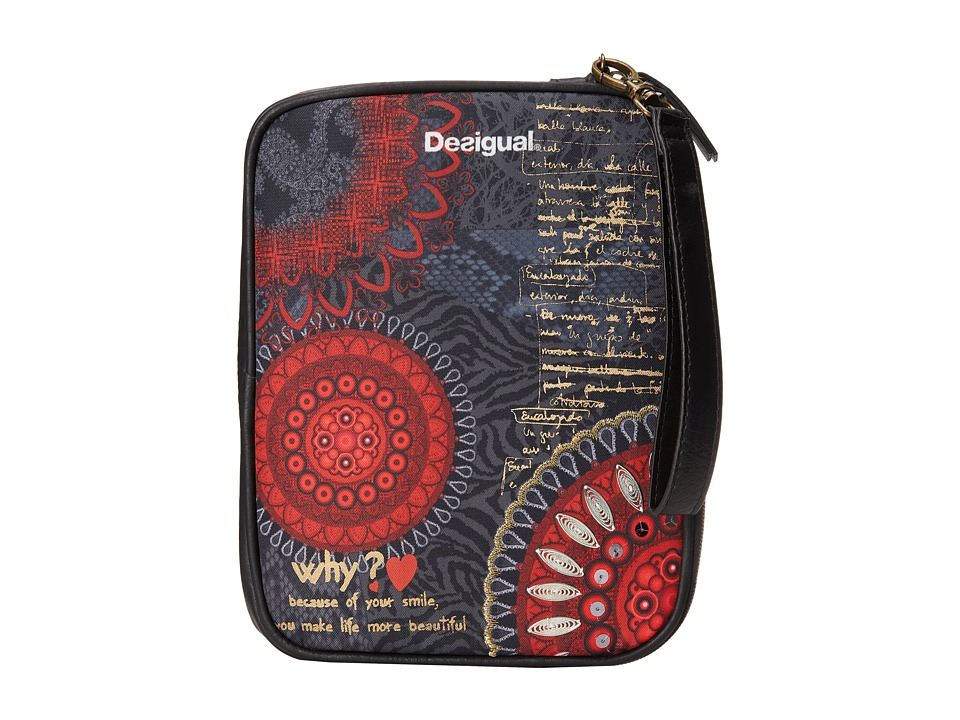 Desigual - Apple Tablet Cover (Rojo) Computer Bags