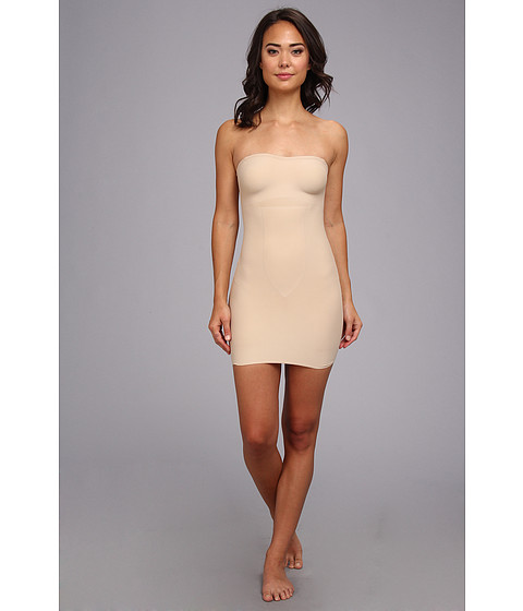 TC Fine Intimates - Just Enough Strapless Slip 4132 (Nude) Women's Underwear