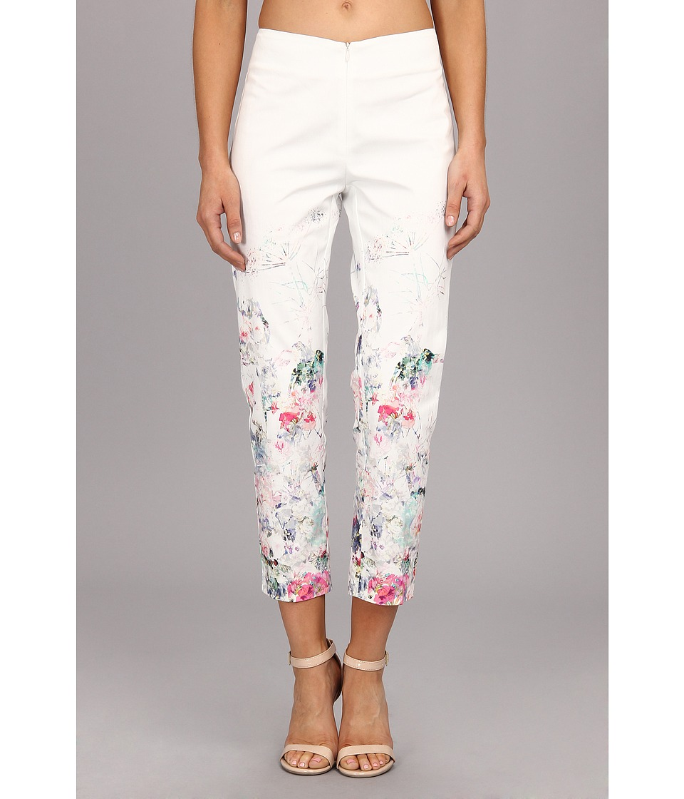 Christin Michaels - Border Print Pant (Garden Party) Women's Casual Pants