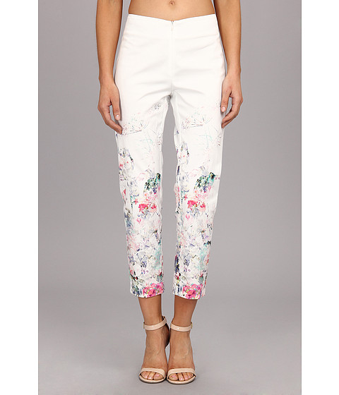 Christin Michaels - Border Print Pant (Garden Party) Women