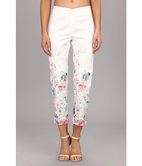Christin Michaels - Border Print Pant (Garden Party) Women's Casual Pants