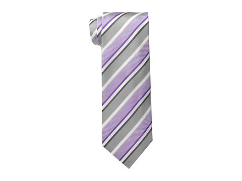 Kenneth Cole New York - Dove Stripe (Purple) Ties