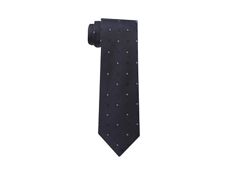 Kenneth Cole New York - Latina Dot (Charcoal) Ties