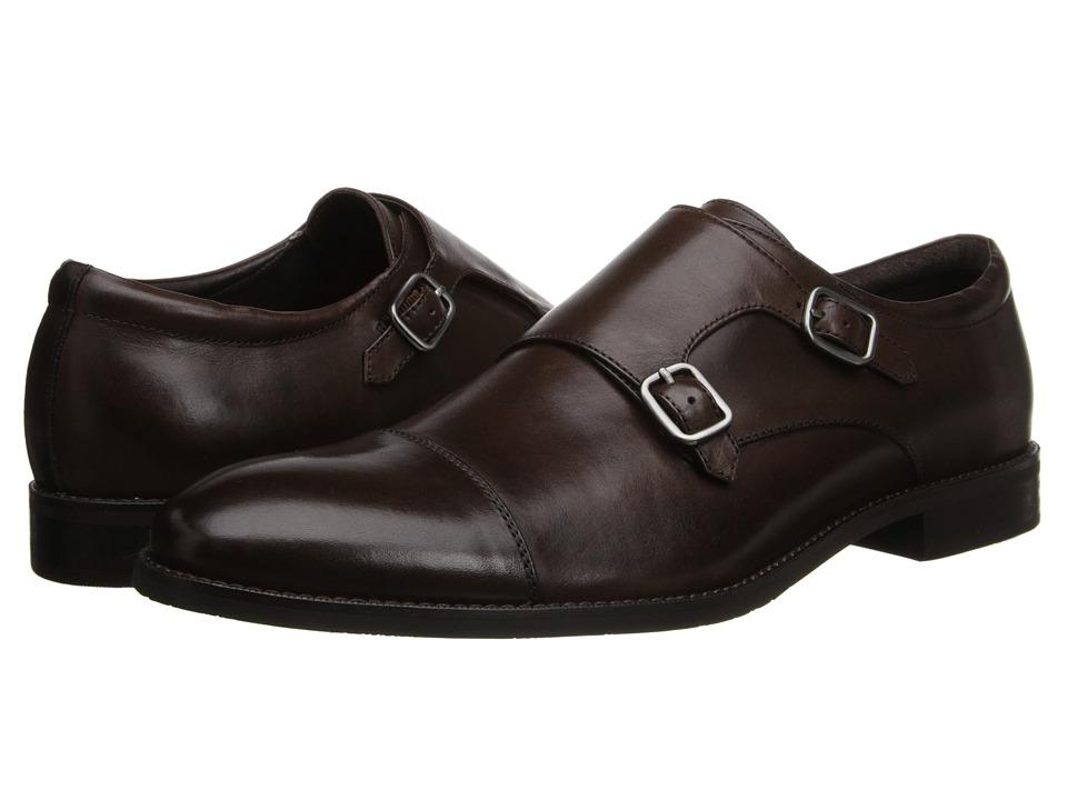Gordon Rush - Abbott (Chocolate) Men's Lace Up Cap Toe Shoes