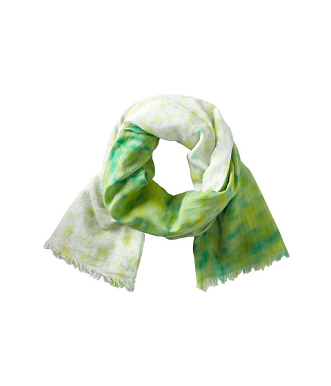 Michael Stars - Painted Rain Wrap (Honeydew) Scarves
