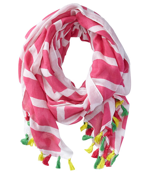 Michael Stars - Mod Check Scarf (Daiquiri) Scarves