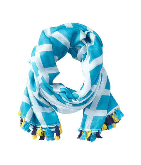 Michael Stars - Mod Check Scarf (Atlantic) Scarves