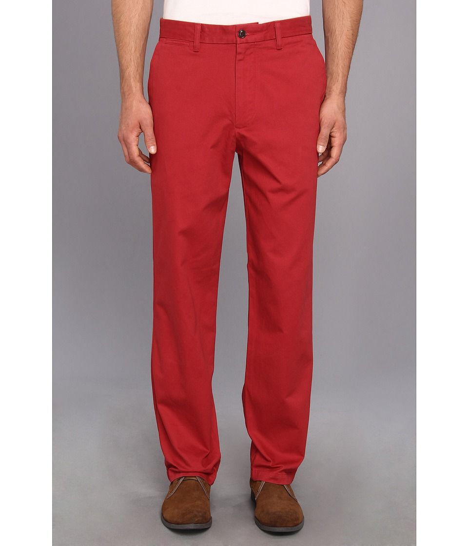 Dockers Men's - Game Day Khaki D3 Classic Fit Flat Front Pant (University of Oklahoma - Red) Men's Casual Pants