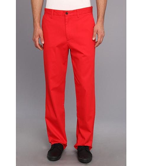 Dockers Men's - Game Day Khaki D3 Classic Fit Flat Front Pant (Louisville - Red) Men's Casual Pants