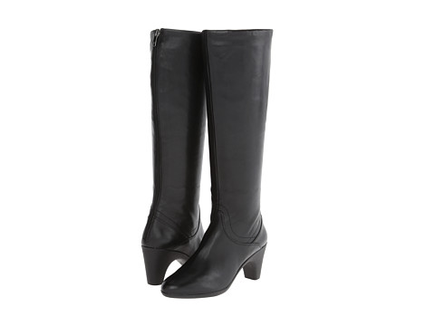Johnston & Murphy - Denise Back Zip Boot (Black) Women