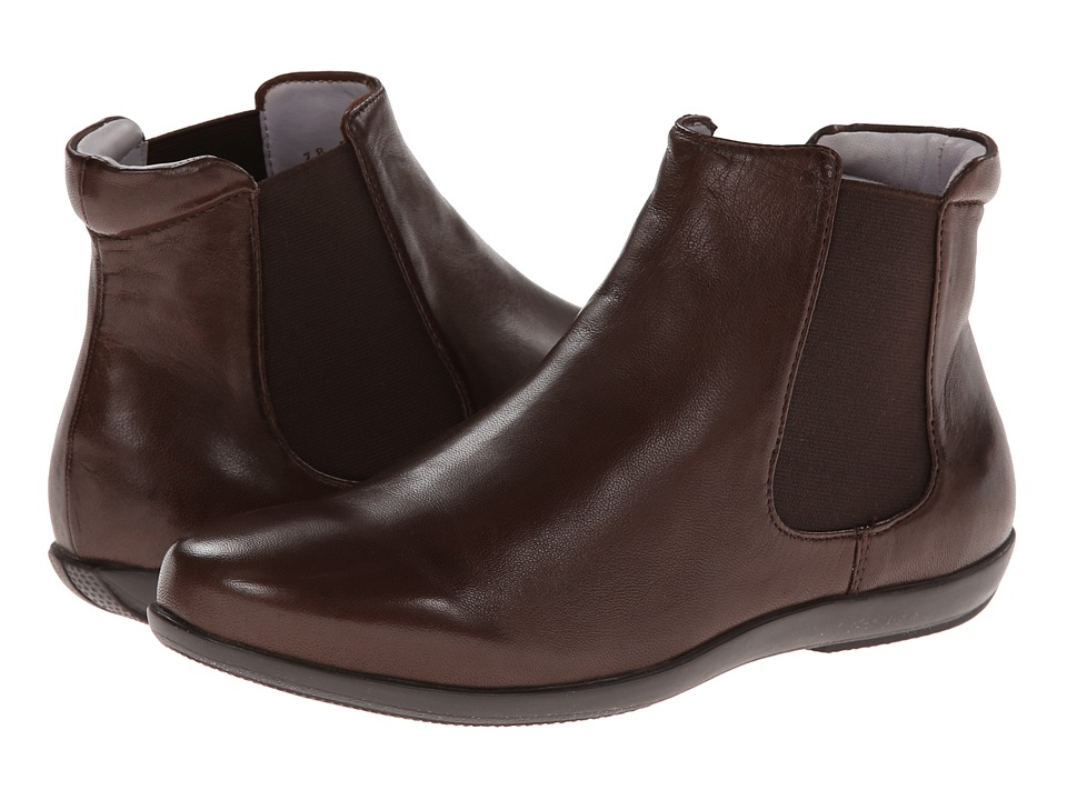 Johnston & Murphy - Shawna Chelsea Boot (Chocolate) Women